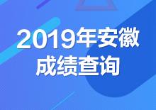 2019年安徽公务员考试成绩查询入口(已开通)